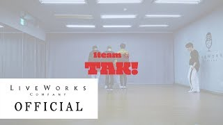 """1team 2nd mini album """"just"""" tak! 안무영상(dance practice) ▼ official homepage: http://www.lworks.co.kr/1team fancafe: http://cafe.daum.net/1team-official y..."""