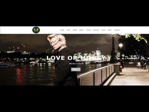 Marilyn Arrives in Los Angeles on foot of 'Love or Money' video
