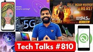 Tech Talks #810 - PUBG Bahubali, PUBG Ban, Realme X 48MP, Redmi Laptop, Xiaomi Triple Camera
