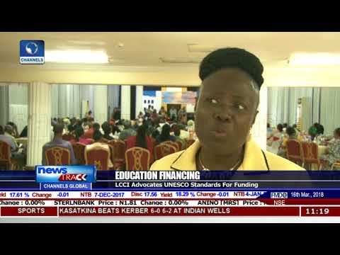 LCCI Advocate UNESCO Standards For Education Funding In Nigeria