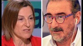 "Vapuleo olímpico de Herrera a ""Mimaricarmen"" Forcadell"
