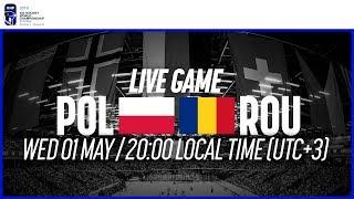 Poland vs. Romania | Full Game | 2019 IIHF Ice Hockey World Championship Division I Group B