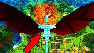 ВАМПИР ДРАКОН ПОДЖОГ ДЕРЕВНЮ ЖИТЕЛЕЙ Майнкрафт Выживание Мультик для детей видео Minecraft
