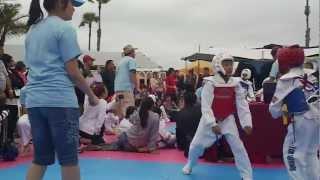 Toby Castro won Gold Medal - Taekwondo
