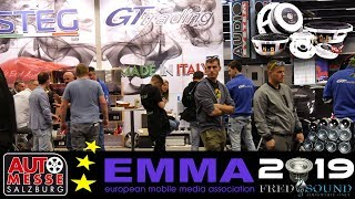 EMMA 2019 SALZBURG STEG AUDIOSYSTEM HIGH END CAR AUDIO SHOW EXCLUSIVE FULL REVIEW BY FRED & SOUND