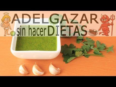 SALSA DE MOJO VERDE # ADELGAZAR SIN HACER DIETAS