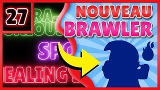 TEASER BRAWL STARS FR : MAJ NOUVEAU BRAWLER ET MULTIPLE POUVOIR STAR ? 🙌🙌🙌