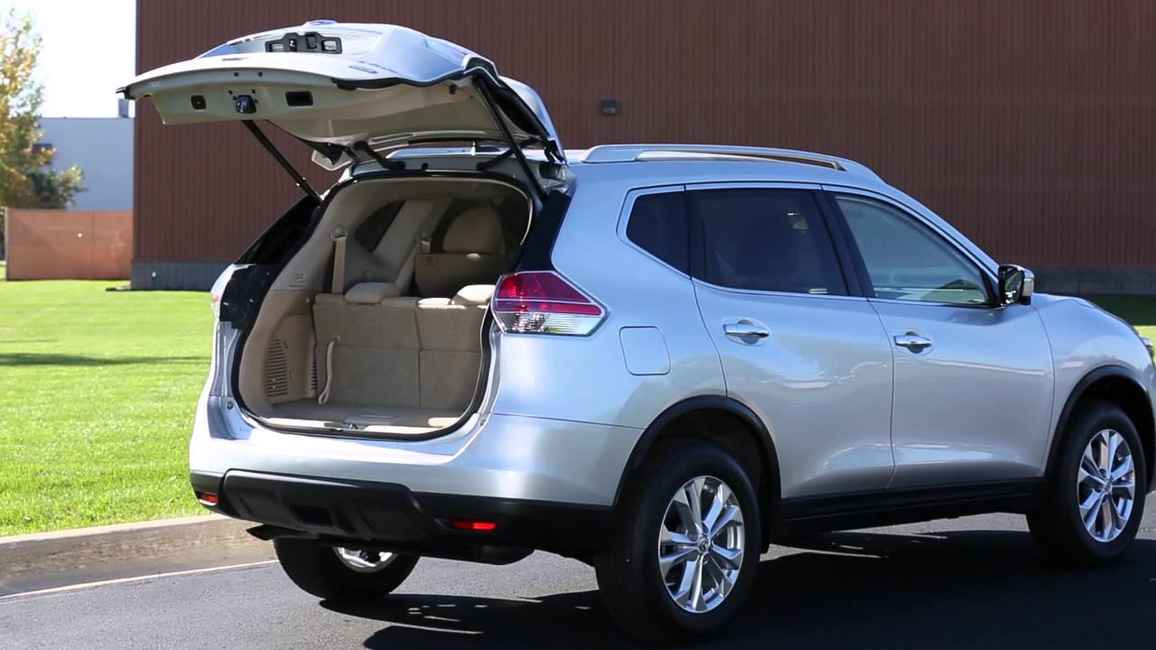 2016 nissan rogue power liftgate if so equipped youtube. Black Bedroom Furniture Sets. Home Design Ideas
