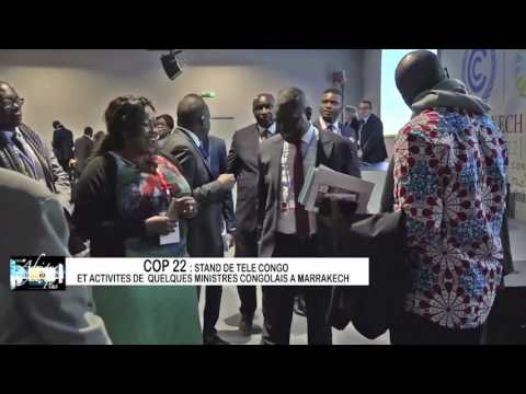 Afrique Environnement Plus - Stand de TELE CONGO / ENERGIES 2050