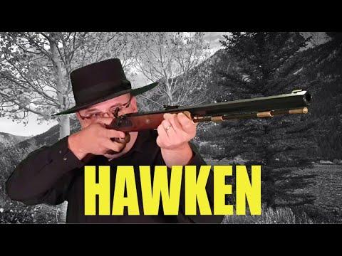 Thompson  54 cal Hawken black powder muzzleloader - YouTube