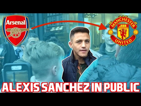 ALEXIS SANCHEZ IS MOVING TO MANCHESTER UNITED *CONFIRMED IN PUBLIC*