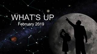 Planets, Red and Blue Objects in Feb. 2019 Skywatching