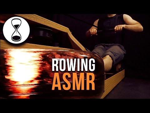 ASMR - Rowing You to Sleep | WaterRower Sounds | No Talking
