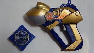 手裏剣戦隊ニンニンジャーより、開口忍砲 ガマガマ銃です。 □LED発光改...