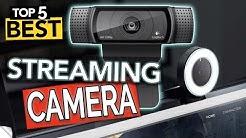 ✅ TOP 5 Webcams | Best Streaming camera 2020