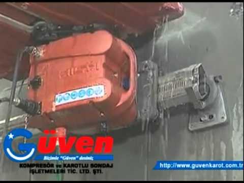 Adana Raylı Beton Kesme Delme Kırma - www.guvenkarot.com.tr