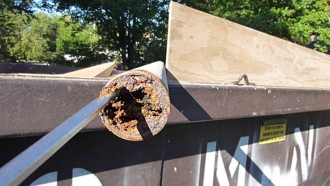 PVC Pipe vs  Cast Iron Pipe