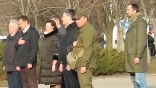 Митинг в Краматорске против блокады