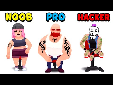 NOOB Vs PRO Vs HACKER - Ink Inc. (Tattoo Drawing)