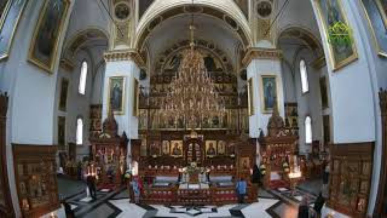 Божественная литургия 2 августа 2021 г СвятоУспенская Святогорская лавра Украина г Святогорск