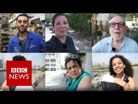 """""""What do Americans know about Aleppo or Gary Johnson?- BBC News"""