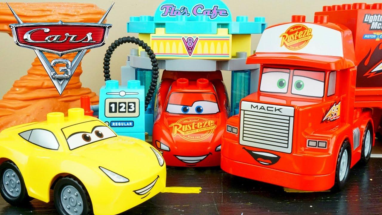 Lego Radiator lego duplo cars 3 flo's cafe mack hauler cruz visits radiator