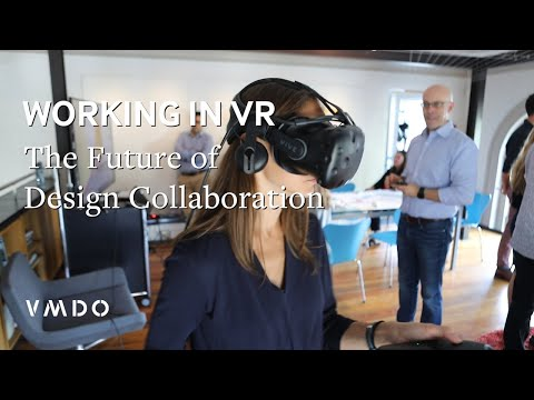 Working in Virtual Reality: The Future of Design Collaboration