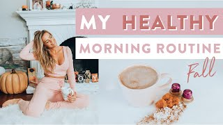 My HEALTHY Fall Morning Routine | Busy Babe Life Hacks