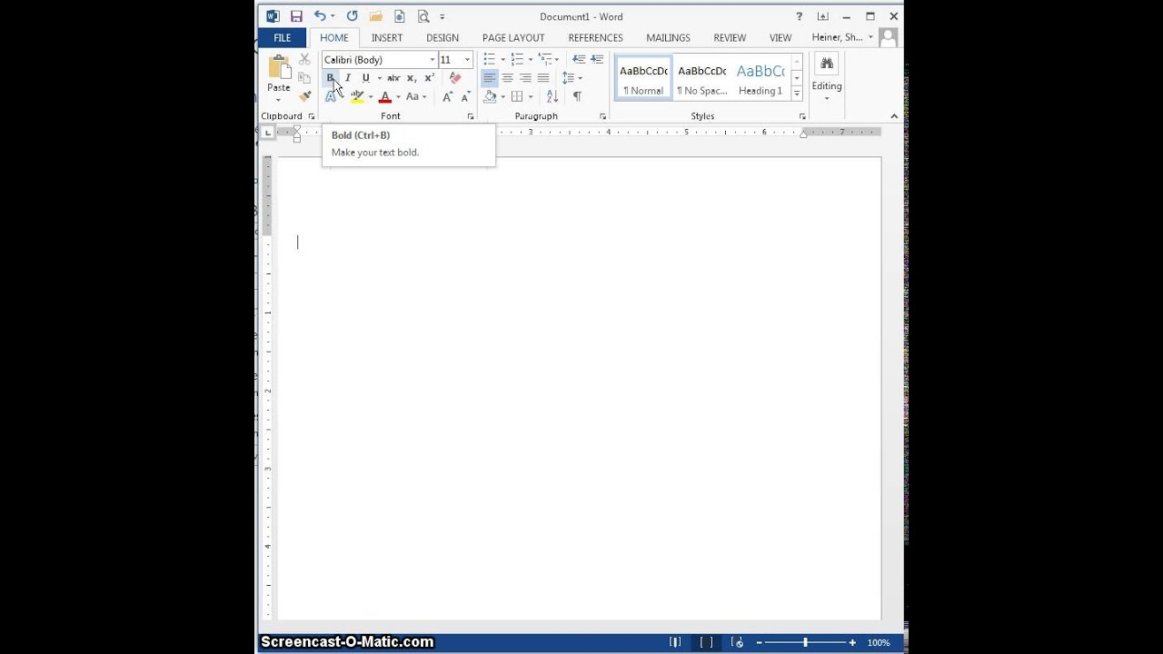 Microsoft Office 2013, Ribbons, Tabs, Groups, and Commands