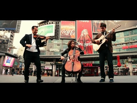 Rather Be - Clean Bandit ( Violin, guitar, cello cover) The Guitar Guys