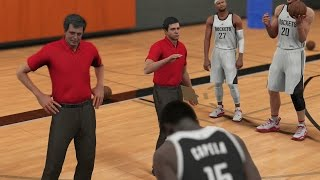 Nba 2k16 ps4 my career - 2k camera practice! gym rat badge