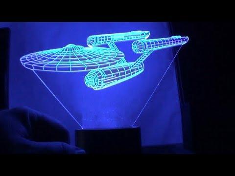 Star Trek LED Lamp | U.S.S. Enterprise