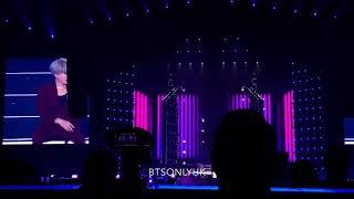 190324 Trivia 轉 : Seesaw Suga BTS(방탄소년단) Love Yourself Tour in Hong Kong Fancam
