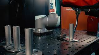 Lorch Cobot Welding Package – MIG-MAG seams in TIG look