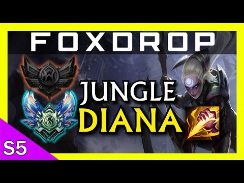[S5] Unranked to Diamond - Diana Jungle (Runeglaive) - League of Legends