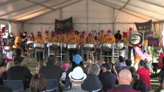 'De Band Comin' performed by Rivercity Steelband, PANZfest 2015
