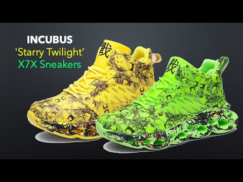 INCUBUS 'Starry Twilight' X7X Sneakers