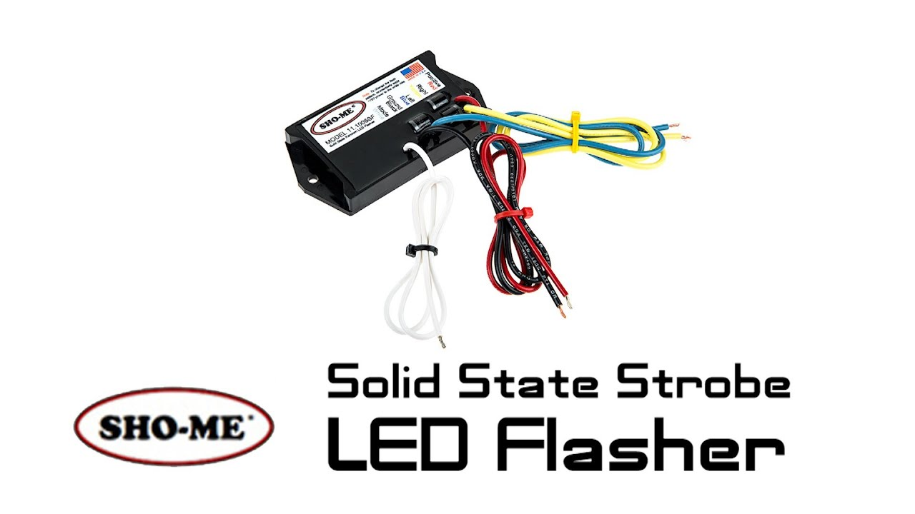 small resolution of show me strobe led flasher solid state
