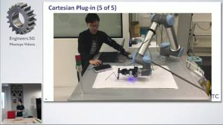 Implementation of Cartesian Motion Planner using ROS - Singapore Robot Operating System(ROS) Meetup