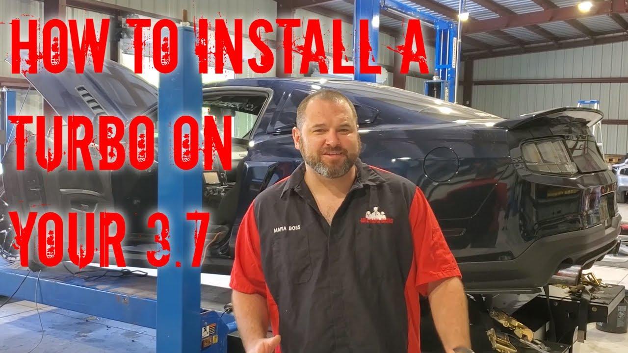 How To Install The Npg Turbo Kit For 2011 2014 3 7l V6 Mustangs