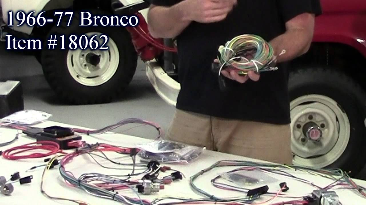 early bronco painless wiring harness   36 wiring diagram