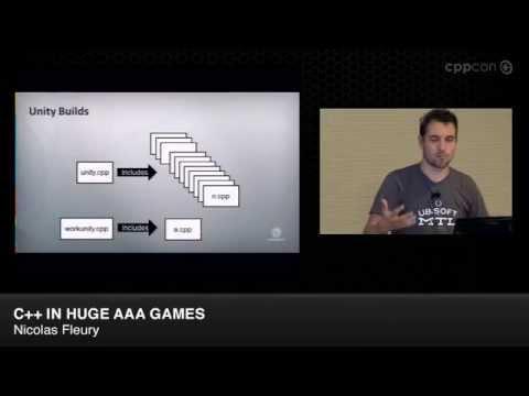 "CppCon 2014: Nicolas Fleury ""C++ in Huge AAA Games"""