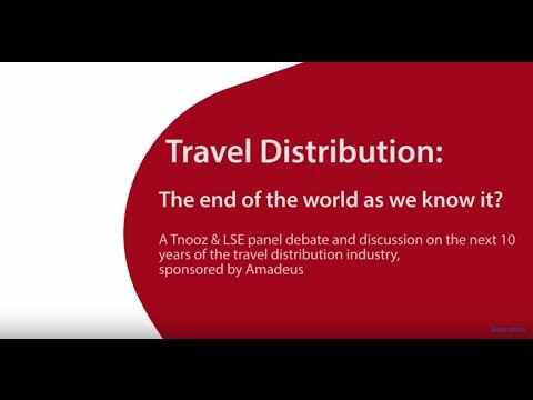 Interview with Dr Graham Floater. Travel distribution: The end of the world as we know it?