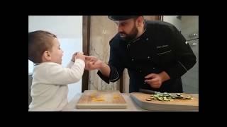 Fajitas di pollo e verdure - Chef Shady e Leo in cucina per Berghoff
