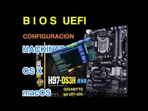 BIOS UEFI, macOS, OS X,Hackintosh