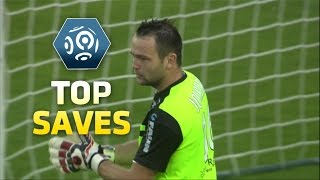 Best goalkeeper saves : Week 4 - Great reflexes from Jourdren and Areola / 2014-15