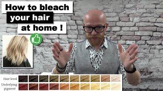 How to bleach y๐ur hair at home - Pro hairdresser tips - Hair Buddha