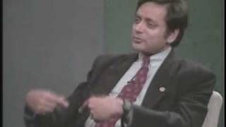 Conversations with History: Shashi Tharoor