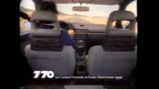 Jeep Eagle Commercial Ad 1988