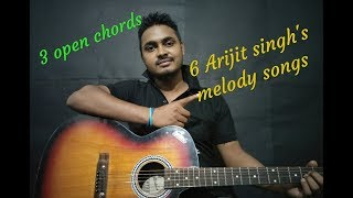3 Chords And 5 Arijit Singh songs Easy Guitar Lesson | Feat- Legal Bachelors